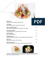 Dee Lincoln Prime Menu