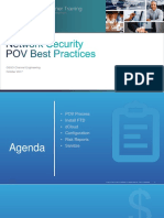 FJBT Network Security POV Workshop