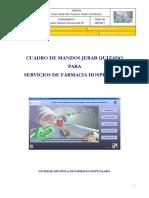 Cuadro Mandos Jerarquizado Servicios Farmacia SEFH
