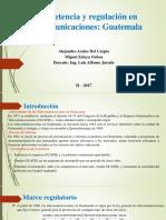 Regulacion Guatemala