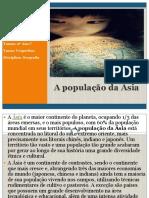 A Populaçao Da Asia