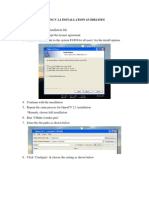 Opencv 2.1 Installation Guidelines