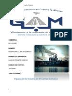 5a Impacto de La Industria en El c.c.