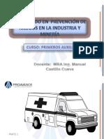 Primeros Auxilios 1 Manuel Castillo