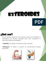 Exposición  SENA sobre los Esteroides