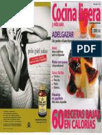 Cocina Ligera - 60 Recetas Bajas Calorias