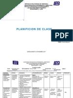 Plan de Clase de Evaluacion e Intrumentos. Jr 1