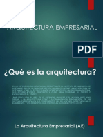 ARQUITECTURA EMPRESARIAL - UNAMAD