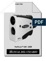Lasertechnology Manual TruPulse Spanish