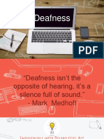 spe 222 - deafness presentation