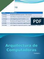 """Principio de funcionamiento de la  Arquitectura de Computadora """"Von Neuman"""""""