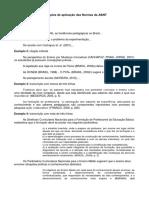 NBR - Referências e Normas Da ABNT