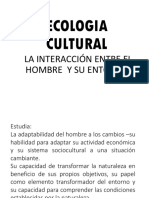 Ecologia Cultural