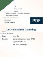 scanner lexical