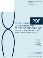 Revista latinoamericana Psicológica