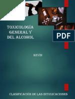 Toxicología General y Del Alcohol