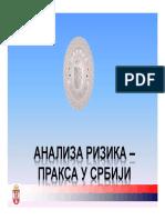 Analiza Rizika - Praksa u Srbiji