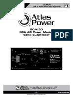 ATS004052 RevC ECM-30 Owners Manual