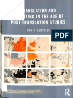 Edwin Gentzler - Translation and Rewriting in the Age of Post-Translation Studies (1)