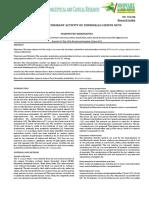 Capacidad Antioxidante Terminaoia Cattapa