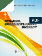 Dynamics, Interdisciplinarity, Diversity