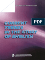 Current Trends in the Study of English