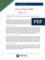 ECHR Glossary