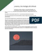 Eclipses Lunares y La Watchtower - Documento Al 4 de Noviembre Del 2017