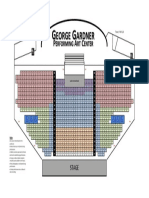 GGPAC Auditorium Seating Chart (Version 1)