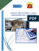 Programa de Auditoria Cta 18