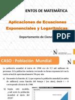 S 13 Ecuaciones Logarítmicas Exponenciales Aplicaciones