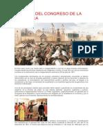 Historia Del Congreso de La República