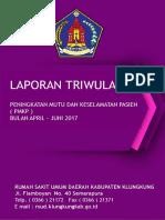 Contoh Laporan Pmkp Triwulan