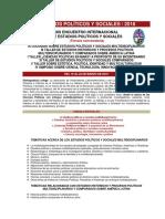 EPS 2018. Estudios Políticos y Sociales 2018 XIII 3ra Convocatoria. Con Logos. 05-11-2017