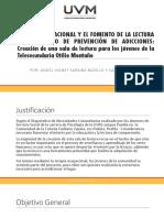 Proyecto Educativo, Comunitario y Laboral JÓVENES