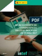 2017 1020 Marco Común de Competencia Digital Docente 1