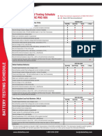 Battery Testing Schedule IEEE NERC