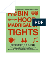 robin hood madrigal in tights poster 2017