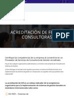 Acreditación de Firmas Consultoras   IAR