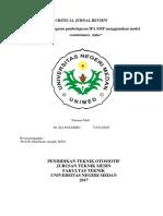 Tugas CJR Evaluasi Pengajaran