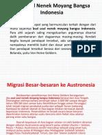 Persebaran Nenek Moyang Nusantara