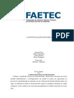 A Industrialização Brasileira