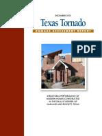 APA-SP-1177 Damage Assessment Report Texas Tornado