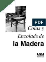 Colas y Encolado de La Madera