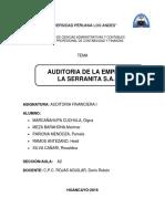 Auditoria La Serranita a2