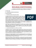 2. Marco Legal e Institucional