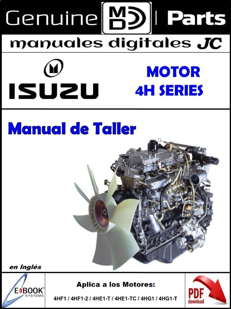 Isuzu 4hf1 Wiring Diagram Electrical 4he1 Engine Motores 4h Series Mt Org Valve Cylinder 2000 Npr