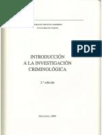 INTRODUCCIÓN. A LA INVESTIGACIÓN. CRIMINOLÓGICA. 2.° edición. GRANADA, 2009.pdf