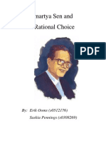 Amartya Sen and Rational Choice