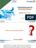 Interoperabilidad - Legislación y Puesta en Marcha - Tomás Flores